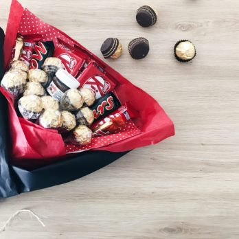 Bouquet chocolat – Un bouquet gourmand et original